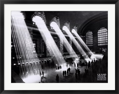 Framed Grand Central Station, New York City, c.1934 Print