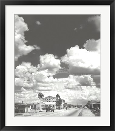 Framed Route 66 Print