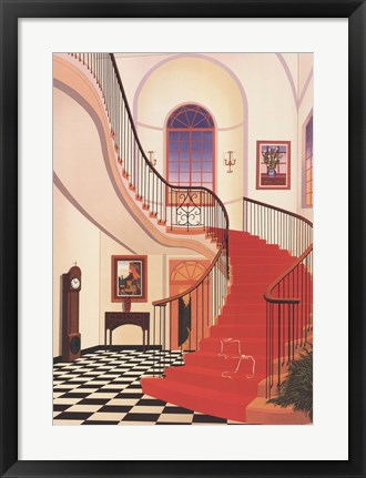 Framed Salinger Mansion Print