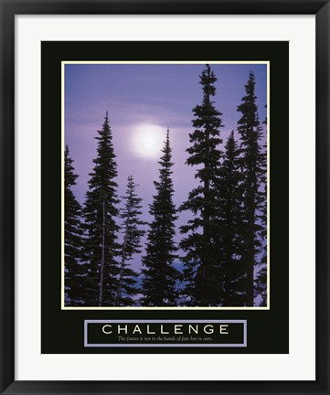 Framed Challenge - Moonrise Print