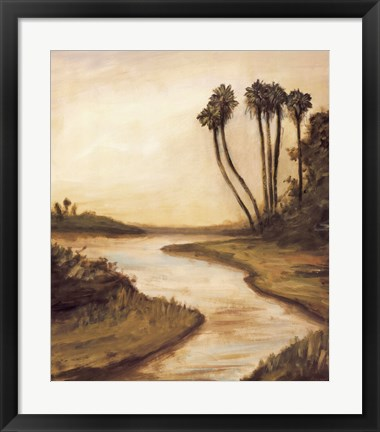 Framed Everglade River II Print