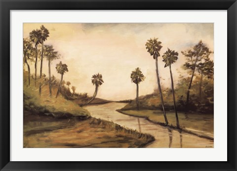 Framed Palmetto Cove Print