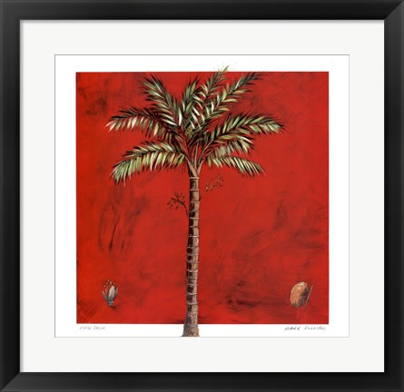 Framed Maya Palm Print