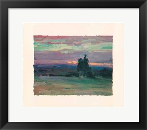 Framed Sunset II Print