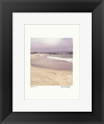Framed Beach #1 Print
