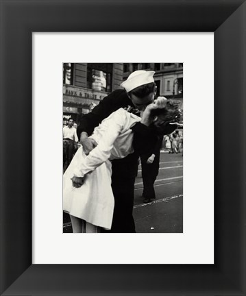 Framed Kiss the War Goodbye Print