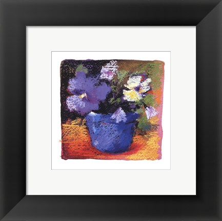 Framed Bright Florals Print