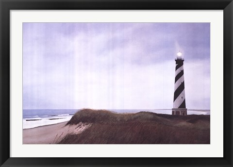 Framed Cape Hatteras Light Print