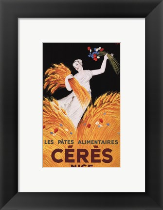Framed Ceres Nice Print