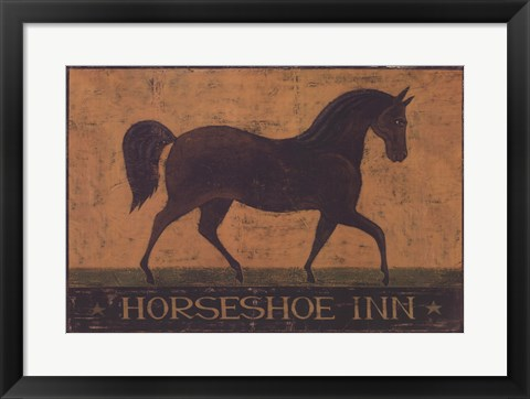 Framed Horseshoe Inn Print