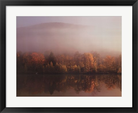 Framed New England Sunrise Print