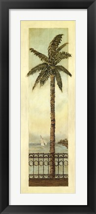 Framed Cayman Palm II Print