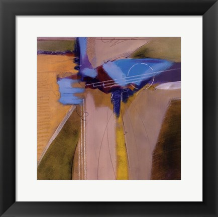 Framed Blue Danube Print