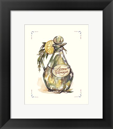 Framed Lemon Tarragon Print
