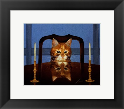 Framed Lord Buffington Print