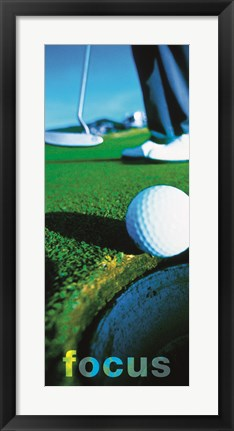 Framed Focus-Putter Print