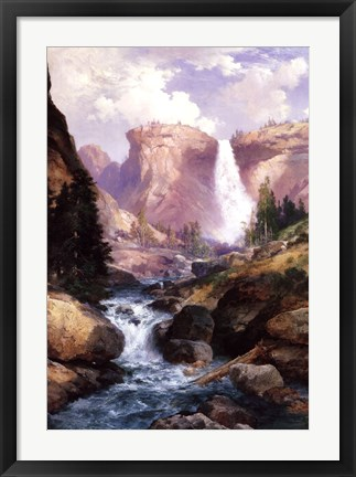 Framed Rocky Torrent-Grand Canyon Print