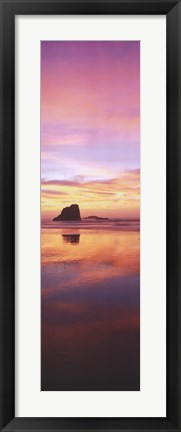 Framed Nature's Colors - Multi Colored Sky Print