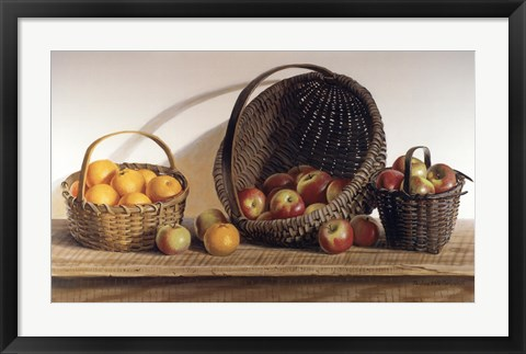 Framed Apples and Oranges Print