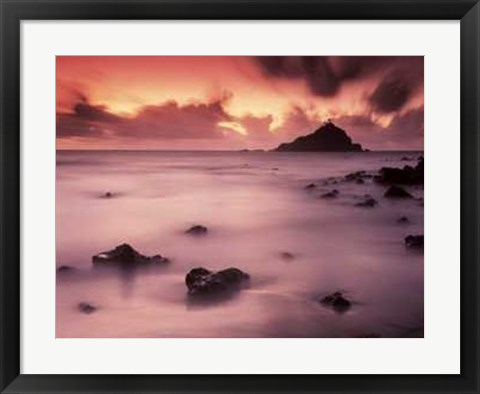 Framed Hana Coast Sunrise Print