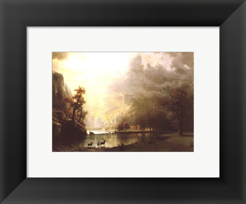 Framed Sierra Nevada Morning Print