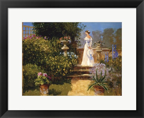 Framed Secluded Garden Print
