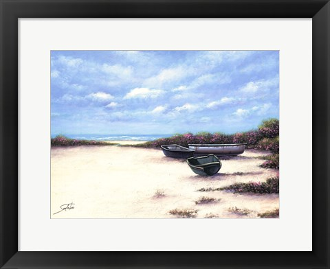 Framed West Wind Beach Print