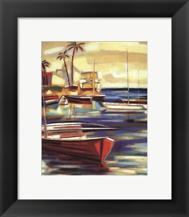 Framed Bay Breeze II Print