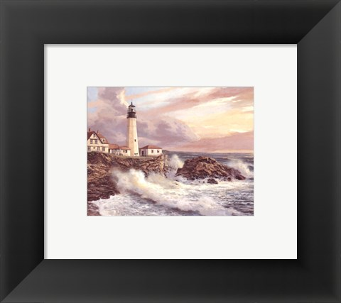 Framed Peaceful Horizon Print