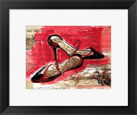 Framed Best Black Heels Print