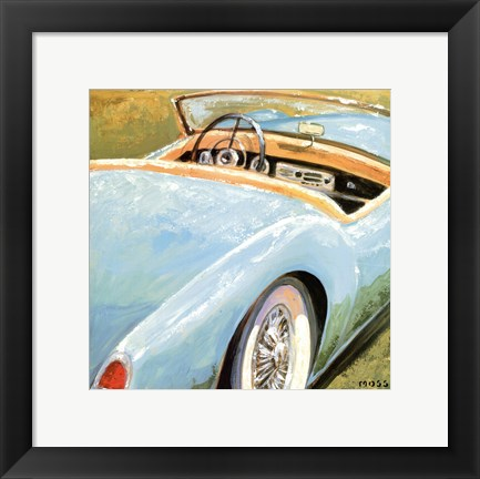 Framed Roadster 2 (Topless 2) Print
