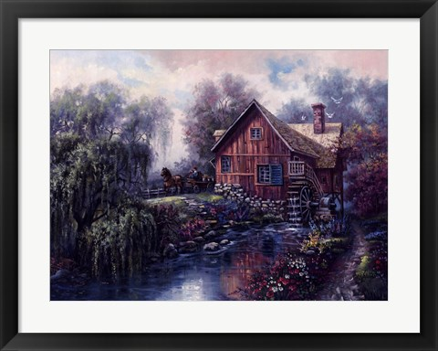 Framed Willow Creek Mill Print