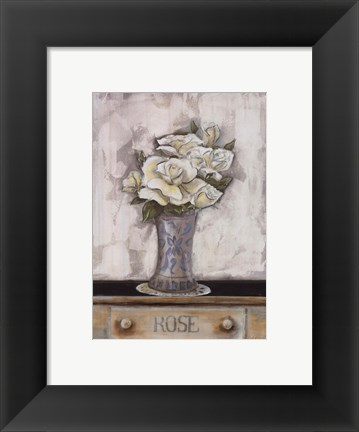Framed Ophelia's Roses Print