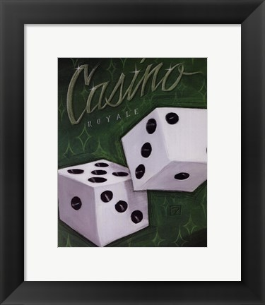 Framed Casino Royale Print