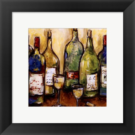 Framed Uncorked Print