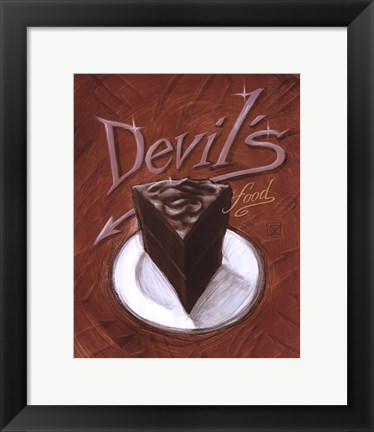 Framed Devil's Food Print