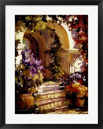 Framed Fragrant Entry Print