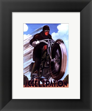 Framed Acceleration Print