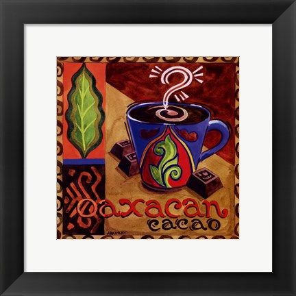 Framed Oaxacan Chocolate Print