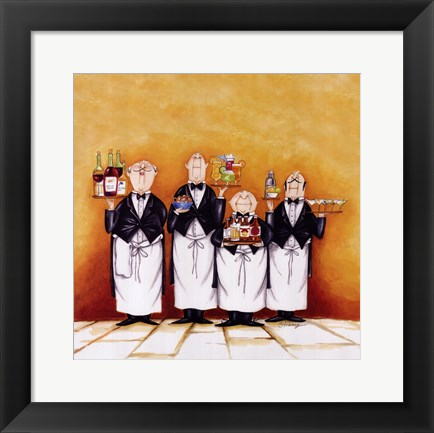 Framed Happy Hour! Print