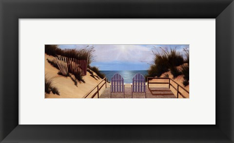 Framed Blue Skies Panel Print