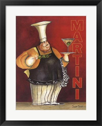 Framed Martini For You Print