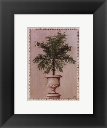 Framed Palm Appeal II Print