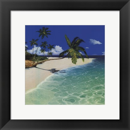 Framed Serenity Bay Print