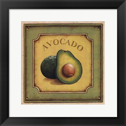 Framed Avocado Print