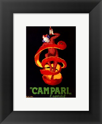 Framed Campari Print