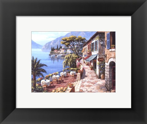 Framed Overlook Cafe II Print