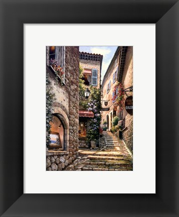 Framed Gallery Steps Print