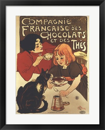 Framed Compagnie Francaise Print