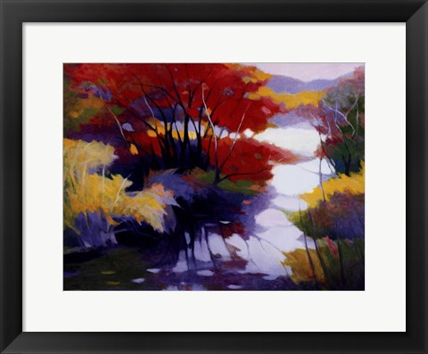 Framed Indian Summer Print